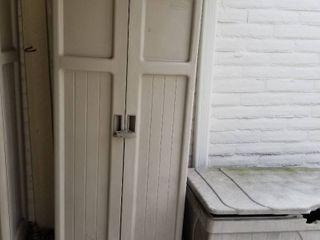 Suncast storage cabinet 71 x 31 x 20