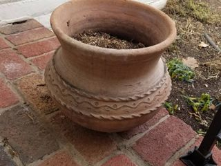 Clay pot 13 x 12 dia