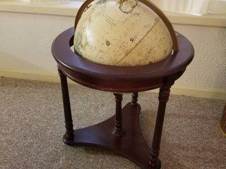 World Classic 16  diameter globe on rolling stand 30  tall