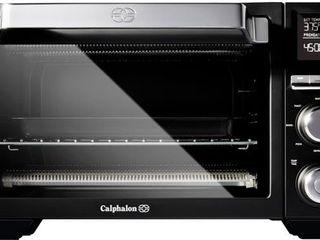Calphalon Precision Air Fry Convection Oven  Countertop Toaster Oven   Black