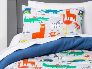 Toddler Animal Kingdom Comforter   Pillowfort