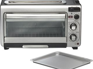Hamilton Beach 2 in 1 Oven and Toaster