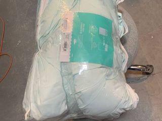 Ombre Comforter Set  Full Queen  Mint   Pillowfort  Blue