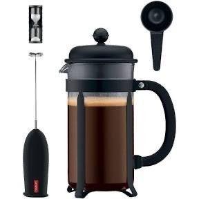 Bodum Java Coffee Press 4pc Set   Black
