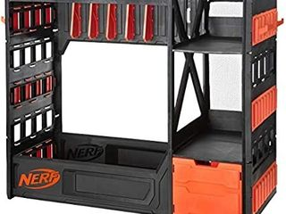 Nerf Elite Blaster Rack   Storage For Up To Six Blasters Including Shelving