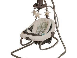 Graco DuetSoothe Baby Swing and Rocker  Winslet