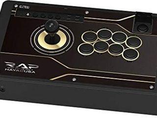HORI  Real Arcade Pro N Hayabusa Stick  PlayStation 4  Black  PS4 092U