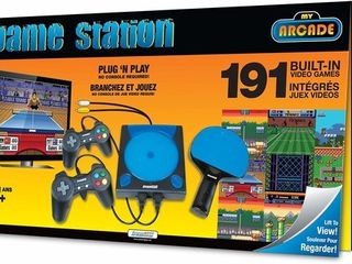 dreamGEAR My Arcade Game Station with 191 Games  2 Controllers and Wireless Paddle  not machine specific