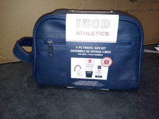 IZOD ATHlETICS 4 pc travel size kit for men