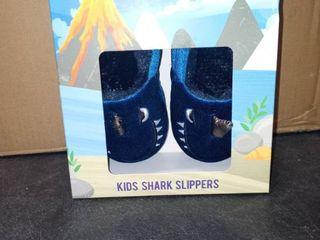 KIDS SHARK SlIPPERS 9 10
