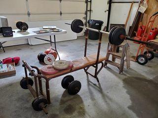 Bench Press  Weights    Dumbbells