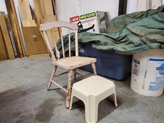 Children s Chair   Step Stool