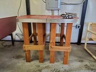 Custom Built Diner Top Table