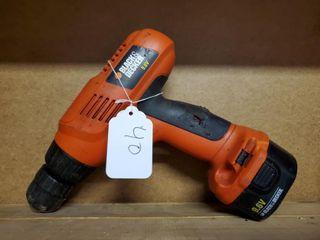 Black   Decker Drill 9 6V