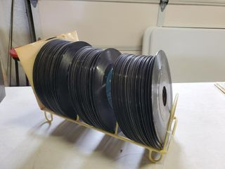 Assorted 33 RPM Vinyl Records