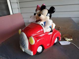 Mickey   Minnie Mouse Cookie Jar