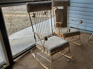 2  Rocking Patio Chairs