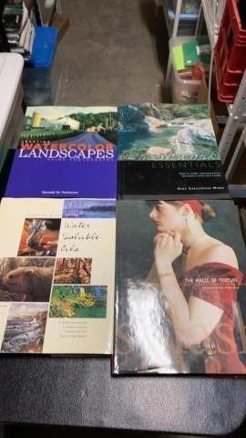 HARDBACK BOOKS ON PAINTING