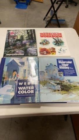 4 WATERCOlOR BOOKS