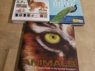 3 ANIMAl HARDCOVER BOOKS