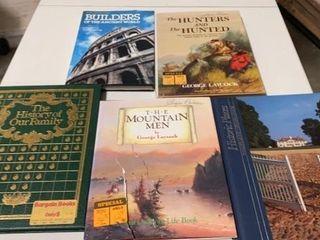 5 HARDBACK BOOKS