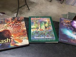 3 HARDBACK BOOKS FOR ARTISTS