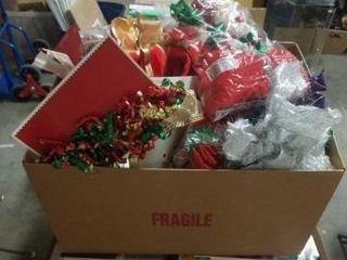 BOX FUll OF CHRISTMAS BOWS