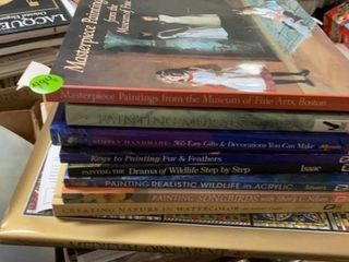 9 MOSTlY HARDBACK BOOKS
