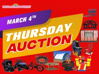 THURSDAY MARCH 4TH AUCTION