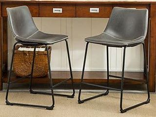 Round Hill Furniture Counter Height Stools Set of 2