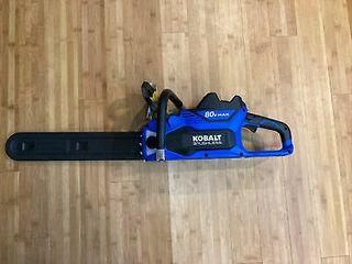 Kobalt 80V Max Brushless Chain Saw