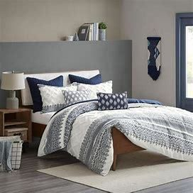 The Curated Nomad Natoma Cotton Chenille Comforter Set   King Cali King Size