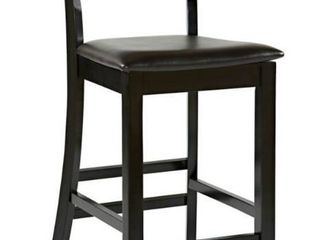 Modern Barstool Faux leather Mid Rise Back