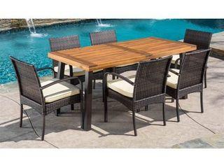 Bavaro Acacia Wood Outdoor Rectangular Dining Chair by CKH