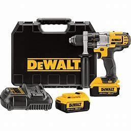 DEWAlT 2AH 20V Max Cordless Hammer Drill Driver w  Charger