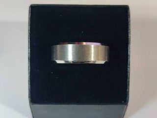 Stainless Steel Men s Wedding Band Size 11
