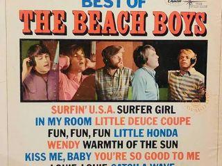 Vintage Beach Boys Record