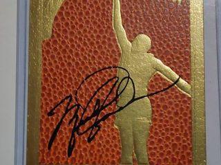Michael Jordan 24K Gold Playing Card