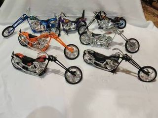 7 Collectible Model Motorcycles