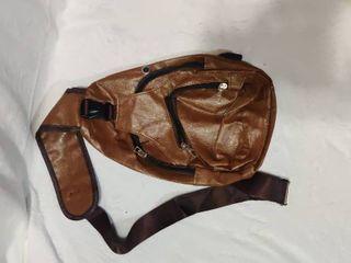 Brown over the shoulder satchel bag