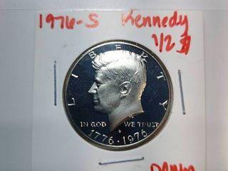 1976 S  1976 D  1976 P Kennedy Half Dollars