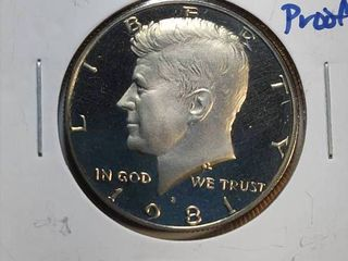 1981 S DCAM  P  D Kennedy Half Dollars