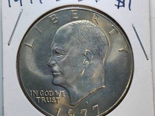 1977 D  1978 P Eisenhower  1 Coins