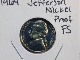 1964 DCAM Gem Proof Jefferson Nickel with Full Steps