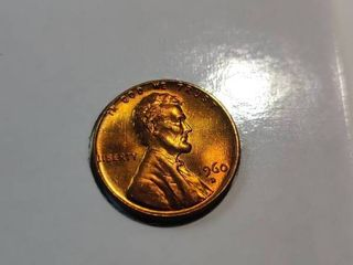 1960 D lincoln Penny  large Date