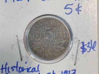 1957 20 Centavos Coin