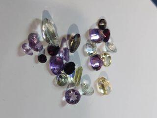 Variety of Beautiful Gemstones
