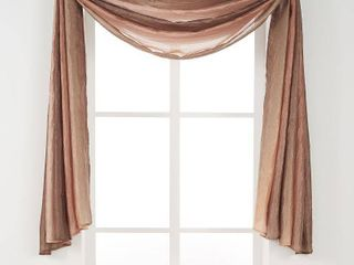 Green Achim Ombre Window Curtain Scarf
