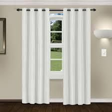 Superior linen Insulated Thermal Blackout Grommet Curtain Panel Pair  52  x 96    Marshmallow
