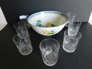 Glass Items  8 Items